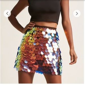 ASOS Motel Sequin Skirt